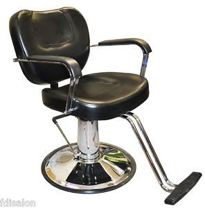 New Black Styling Chair Heavy Duty Salon Spa Barber Beauty Supply