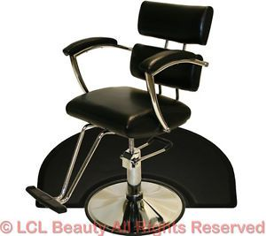 New Sturdy Chrome Hydraulic Barber Chair Styling Hair Mat Beauty Salon Equipment