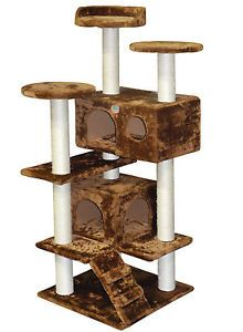 "Gopetclub 53"" Cat Tree House Toy Condo Pet Furniture Bed F2025"