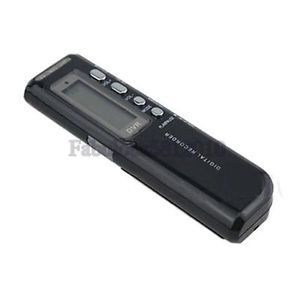 New Voice Activated 4GB Digital Voice Recorder Dictaphone Black