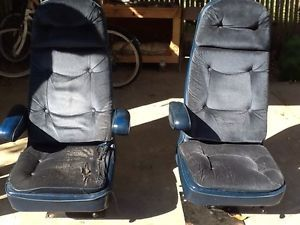 Swivel Bucket Seats Captains Chairs Van Chevy Ford Dodge Custom Vannin