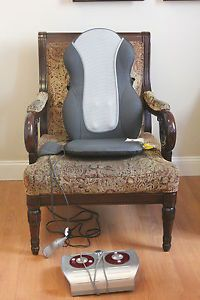 Homedics Massage Chair QRM 400H Shiatsu Cushion w Foot Massager
