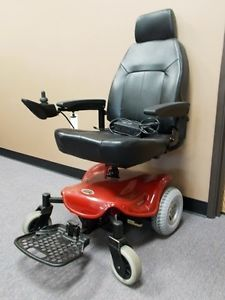 Shop Rider Power Wheel Chair The Scooter Store Red Very Nice Clean