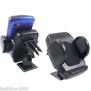 Joblot x 10 Universal Car Mobile Cell Phone Holder Attaches Car Dash or Air Vent