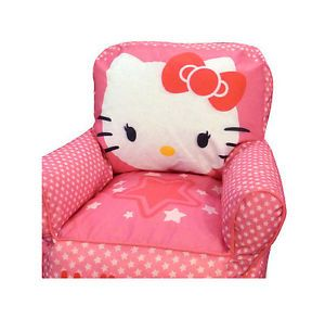 Hello Kitty Toddler Kids Sofa Bean Bag Chair Toddler TV Video Game Pink Cat Room