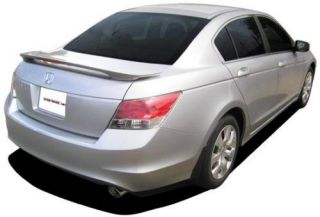 Honda Accord Sedan 4 Door Factory Style Painted Spoiler Wing Trim 2008 2012