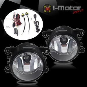 08 12 Ford Focus Fog Lights Clear Lens Front Driving Lamps Pair