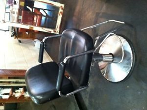 4 Used Black Salon Styling Chairs for Sale