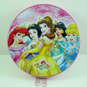Disney Princess Snow White CD VCD DVD Tin Storage Case Holder Hold 20pcs CD DVD