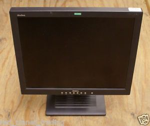 "Dell 18"" UltraSharp 1800FP Black LCD Computer Monitor Screen w Stand 7R477 825633824935"