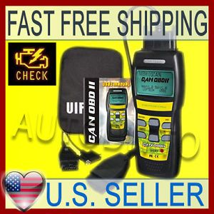 Check Engine Light Reset Auto Diagnostic Scanner Tool Trouble Code Reader OBD2