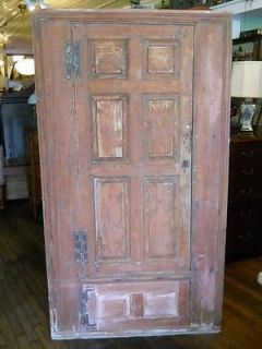 Early American Yellow Pine 18th C Corner Cupboard Central Virginia