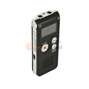 New Pro 4GB USB Digital Spy Audio Voice Recorder Dictaphone  Music Player