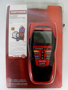 Craftsman CANOBD2 87702 Diagnostic Tool Check Engine Light Scanner OBD2