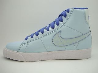 325064 401 Girls Youth Nike Blazer Mid Purple Sneakers Athletic