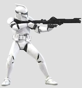 HS0056A Star Wars Stormtrooper DLT 19 Heavy Blaster Rifle 1 6th Scale