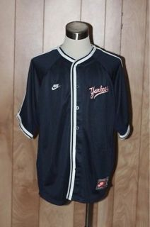Men's Nike New York Yankees Baseball Jersey Size Large