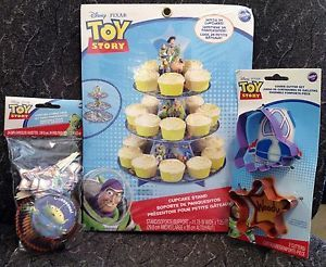 Toy Story Party Supplies Cupcake Stand Cupcake Wrappers Picks Cookie Cutters