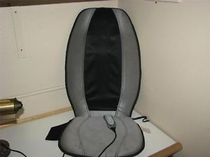 Homedics Massager SMB 300 Shiatsu Rolling Back Massager Chair Seat Vibration