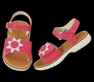 New Field Gear Lindsey Girls Nubuck Pink Sandals Shoes Size Toddler Child 10 M