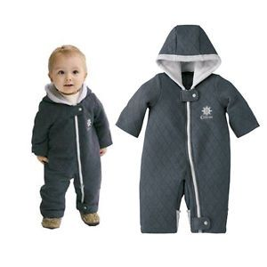 0 18M Baby Boy Girl Winter Warm Snowsuit Bodysuit Also Cover Hands Feet