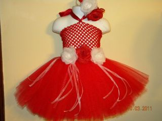 Baby Girl Valentines Tutu Dress