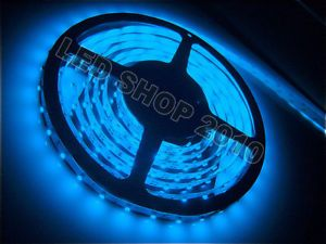 1M 5M 3528 Blue SMD 60LED M Non Waterproof LED Strip Party Light 12V New