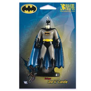 Batman Birthday Party Cake Candle Favors Decorations Topper Comics
