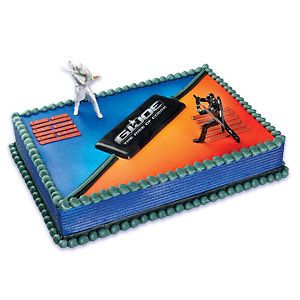 Gi Joe Cake Kit Toppers Birthday Party Baking Supplies