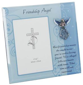 Friendship Angel Photo Frame Lovely Birthday Christmas Gift Gift Boxed New