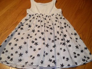 Baby Gap 4 4T Havana Black White Print Dress Spring Summer Toddler 4 4T