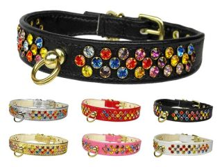 Confetti Jeweled Pet Dog Collar