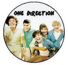 12 One Direction Edible Icing Cupcake Cup Cake Topper Party Decoration Images