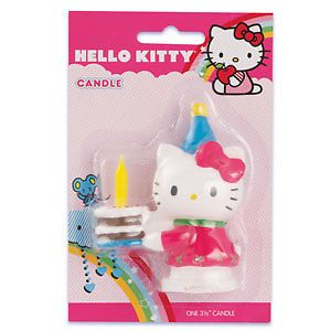 Hello Kitty Birthday Party Cake Candle Favors Decorations Topper Cupcake