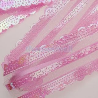 Pink Pull Bow Gift Wrap Flower Wedding Prom Party Decoration Chirstmas Decor Hot