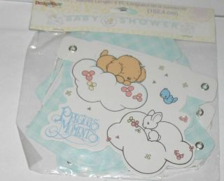 New Precious Moments Baby Shower Decorations Banner 5ft