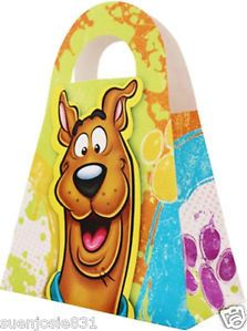 Scooby Doo Treat Boxes Party Favors Supplies 4pk