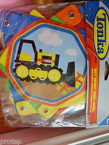 Tonka Birthday Banner Happy Birthday Trucks Designware Party Supplies