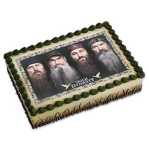 Duck Dynasty Edible Cake Image Birthday Party Cake Supplies Topper TV Series