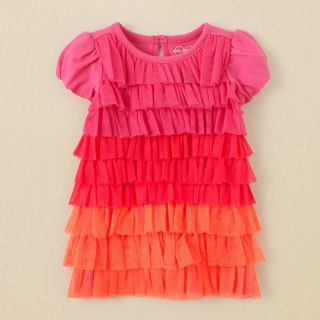 New Infant Girls Flower Pink Easter Tutu Dress 2 PC Set Outfit Clothes 3M 6M