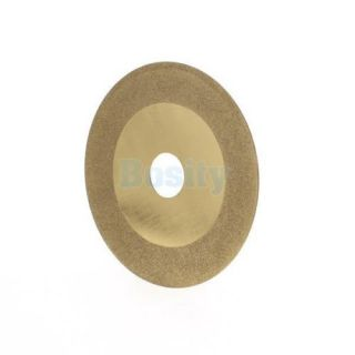 100mm Diamond Cutting Wheel Disc Saw Blade Cut Off Wheel Gold Tone