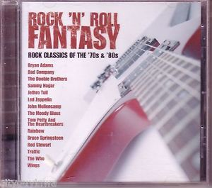 Rock 'N' Roll Fantasy Classics of 70s 80s Various 1992 CD LED Zeppelin Wings