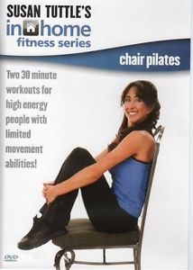 Susan Tuttle in Home Fitness Chair Pilates Exercise DVD Senior Citizen Workout 874482009024