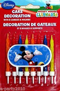 Disney Mickey Mouse Clubhouse Wilton Cake Decoration Birthday Party Supplies