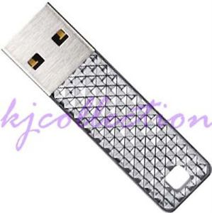SanDisk 16GB 16g Cruzer Facet USB Flash Pen Drives Memory Stick CZ 55 Silver