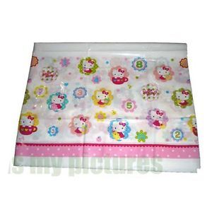 Sanrio Hello Kitty Birthday Party Supply Plastic Table Cover H157