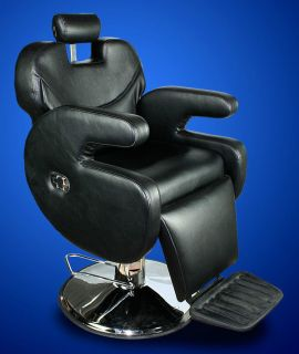 New Mtn All Purpose Barber Salon Spa Beauty Hydraulic Recline Chair Lounge Black