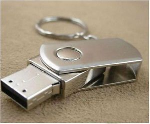 128GB Silver Metal USB 2 0 Flash Memory Thumb Drive New USA