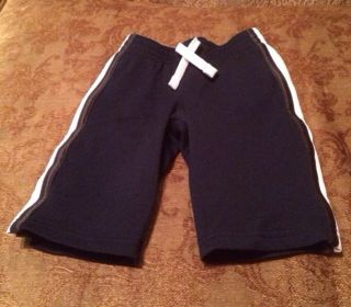 Jumping Beans Navy Athletic Pants 6 9 Months EUC Baby Boy