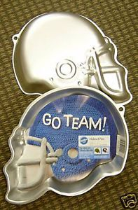 Wilton Football Helmet Sports Cake Pan Pans New
